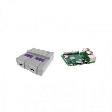 http://Rasptendo%20Case%20+%20Raspberry%20Pi%203%20Board%20Plus